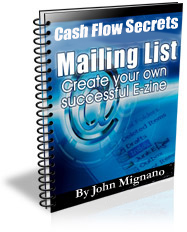 Cash Flow Secrets Targeted Email Marketing
